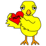 Heart Mom Chick