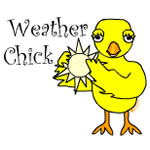 Sunny Weather Chick Text