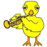 Trumpet Chick