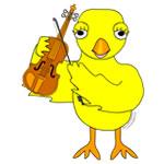 Violin Chick