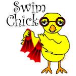 Swim Chick Text