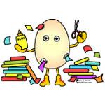 Scrapbooking Egghead