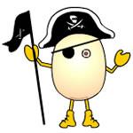 Pirate Egghead