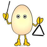 Triangle Egghead