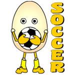 Soccer Egghead Text