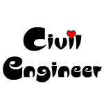 Civil Engineer Small Heart