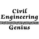 Civil Engineering Genius