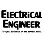 Electrical Engineer Zombie Fighter