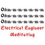 Electrical Engineer Meditating