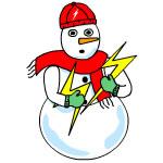 Electrical Snowman