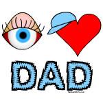 Eye Heart Dad Cap