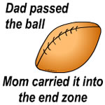 Dad Passed the Ball
