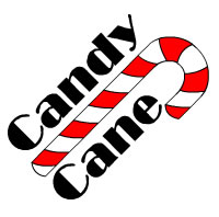 Candy Cane Text