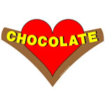 Chocolate Heart Banner