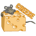 Cheese Mouse Text