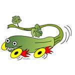 Zucchini Race Car
