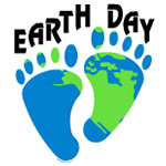 Earth Day Footprints