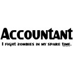 Accountant Zombie Fighter