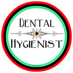 Dental Hygienist Decorative Line Circle
