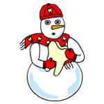 Dental Snowman