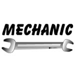 Mechanic Wrench Text