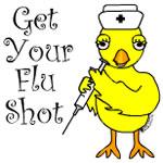 Flu Shot Chick