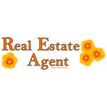 Orange Real Estate Agent Narrow