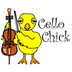 Cello Chick Text
