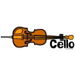 Horizontal Cello