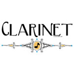 Clarinet Decorative Line