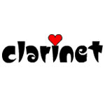 Clarinet Small Heart