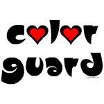 Color Guard Hearts