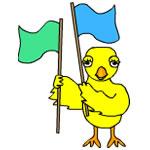 Color Guard Chick