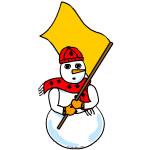 Snowman Colorguard