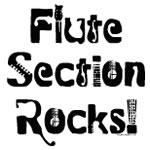 Flute Section Rocks