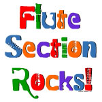 Colorful Flute Section Rocks
