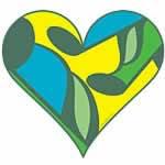 Green Music Heart