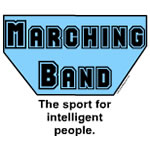 Blue Marching Band Sport