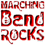 Red Marching Band Rocks