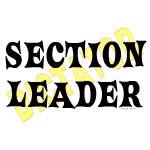 Section Leader Dictator