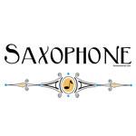Saxophone Decorative Line
