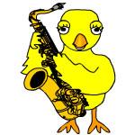 Saxophone Chick