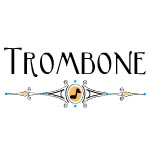 Trombone Decorative Line