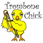 Trombone Chick Text