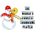 Coolest Trombone Snowman