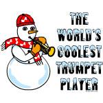 Coolest Trumpet Snowman