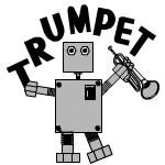 Trumpet Robot Text