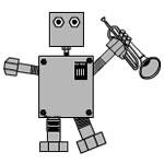 Trumpet Robot