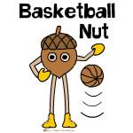 Basketball Nut Text