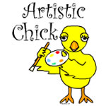 Artistic Chick Text